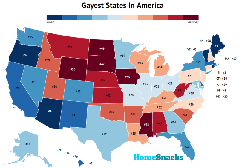 Gayest Places In Rhode Island, RoadSnacks